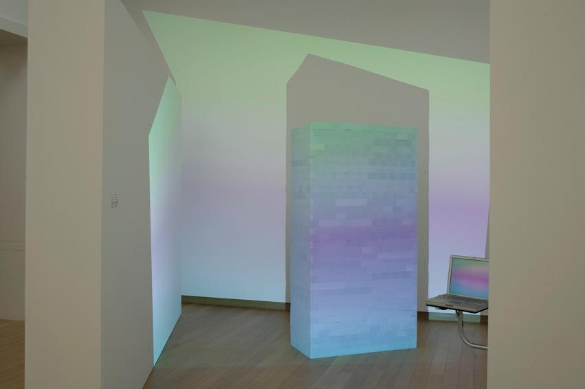 (Powersponge) Brick, 2013. Installation overview. Stedelijk Museum, 2014
