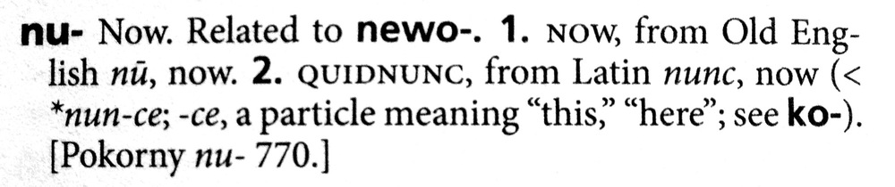 from: The American Heritage Dictionary of Indo-European Roots