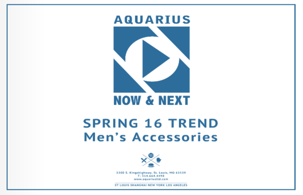 Spring 2016 Men's and Ladies' Headwear