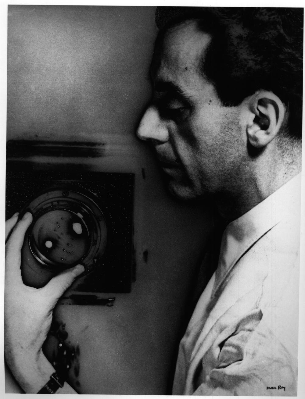Self portrait of Man Ray