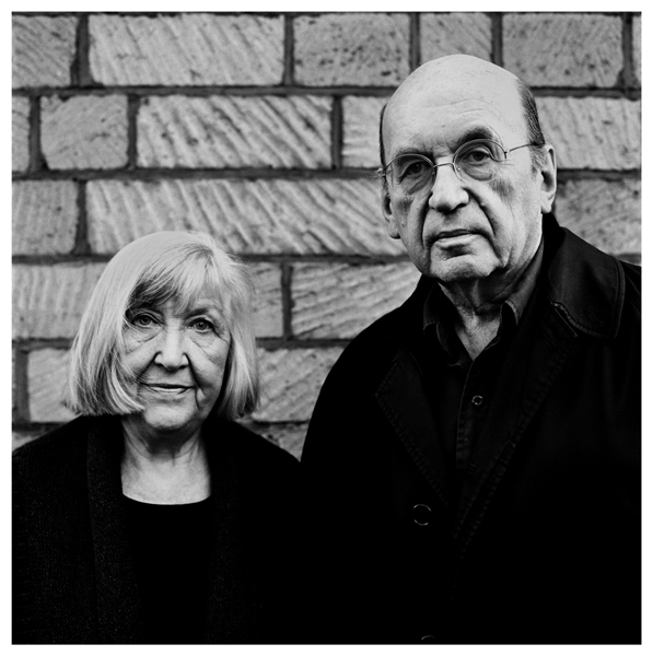 Bernd and Hilla Becher by Anton Corbijn