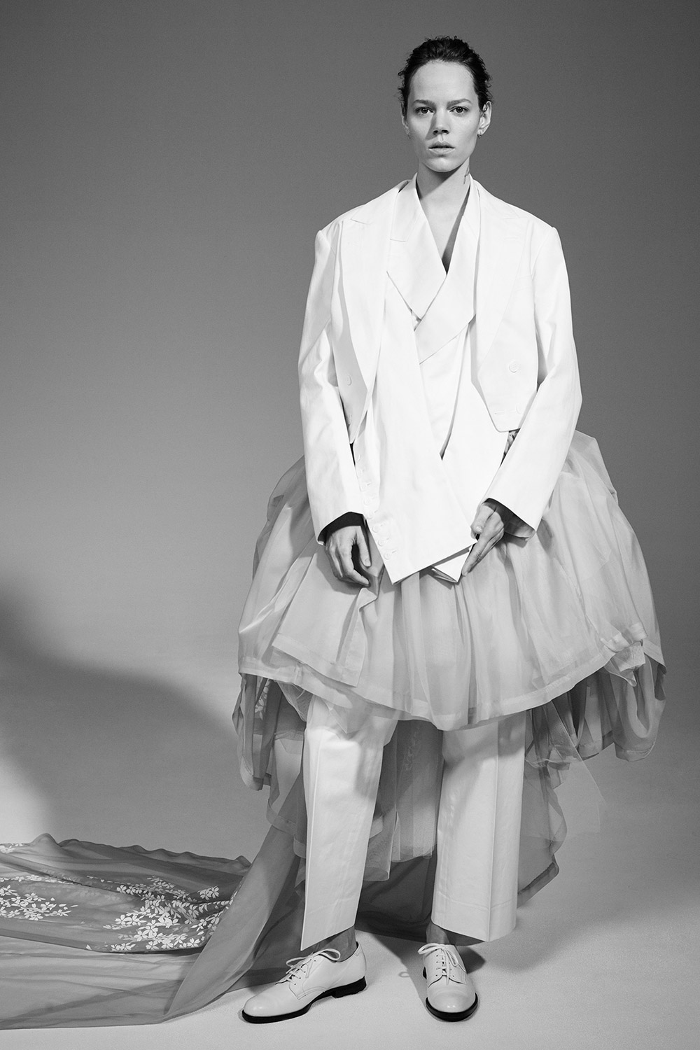 Freja Beha by Collier Schorr for The Met Costume Institute / Rei Kawakubo Exhibition