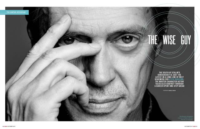 Steve Buscemi by Marco Grob for Empire Magazine