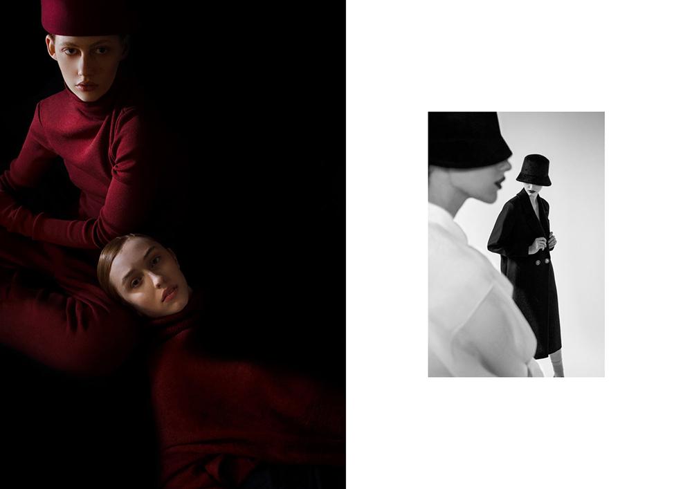 Photographer Sasha Lytvyn & Creative Directors Ania et Lucie for Frankie + Clo