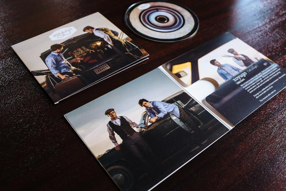 Zoyugo CD Packaging