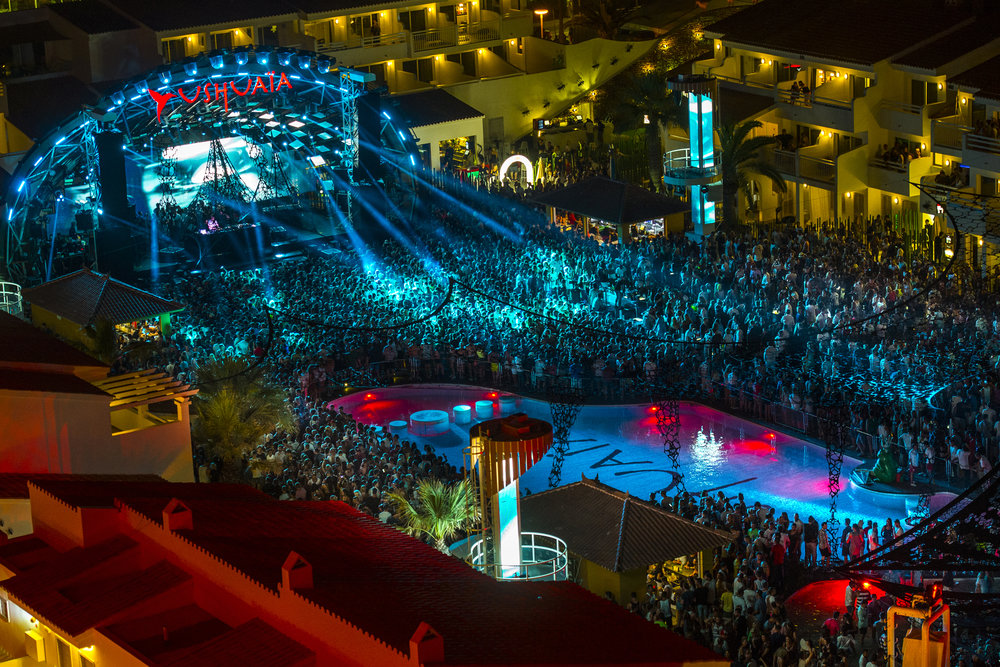 Ushuaia beach club - Bossa beach
