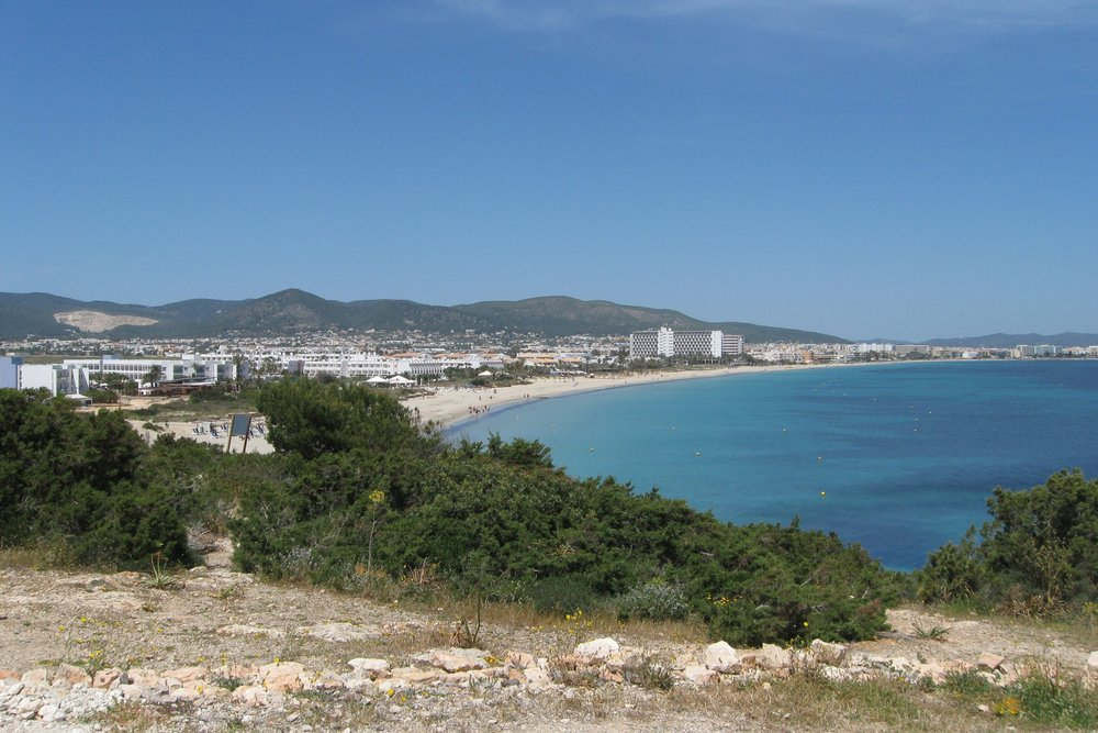 Playa d'en Bossa and Bossa beach