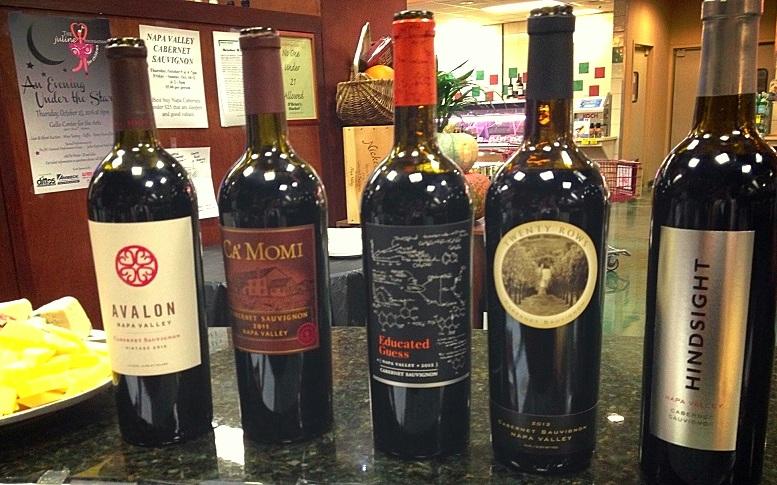 Thursday Night Wines...Napa Cabs Under $25