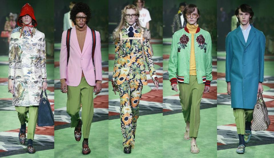 Gucci Spring/Summer Runway