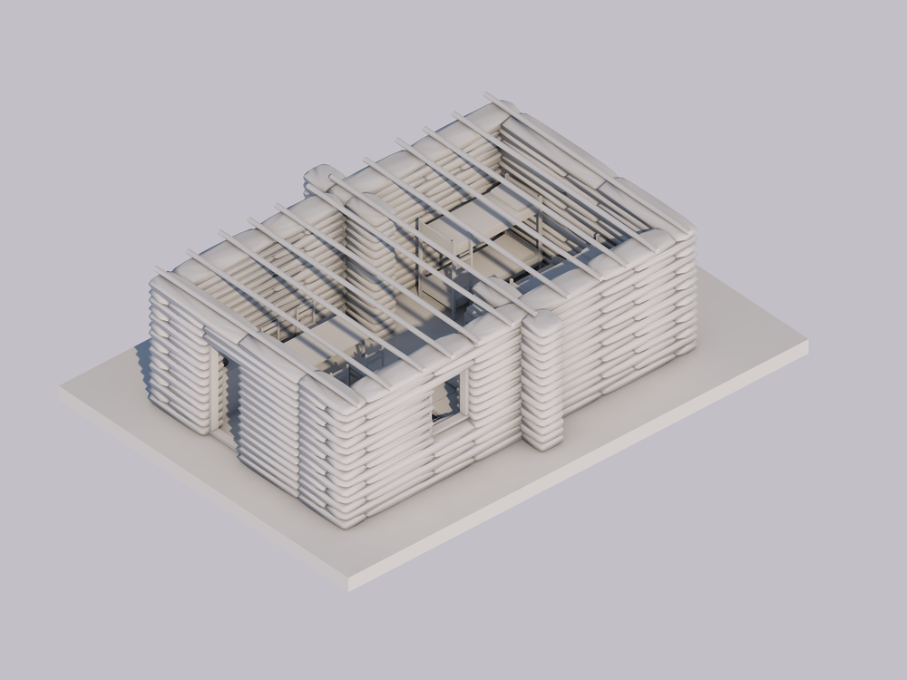 ARCHICAD Model Helped the designer communicating at early design stages.