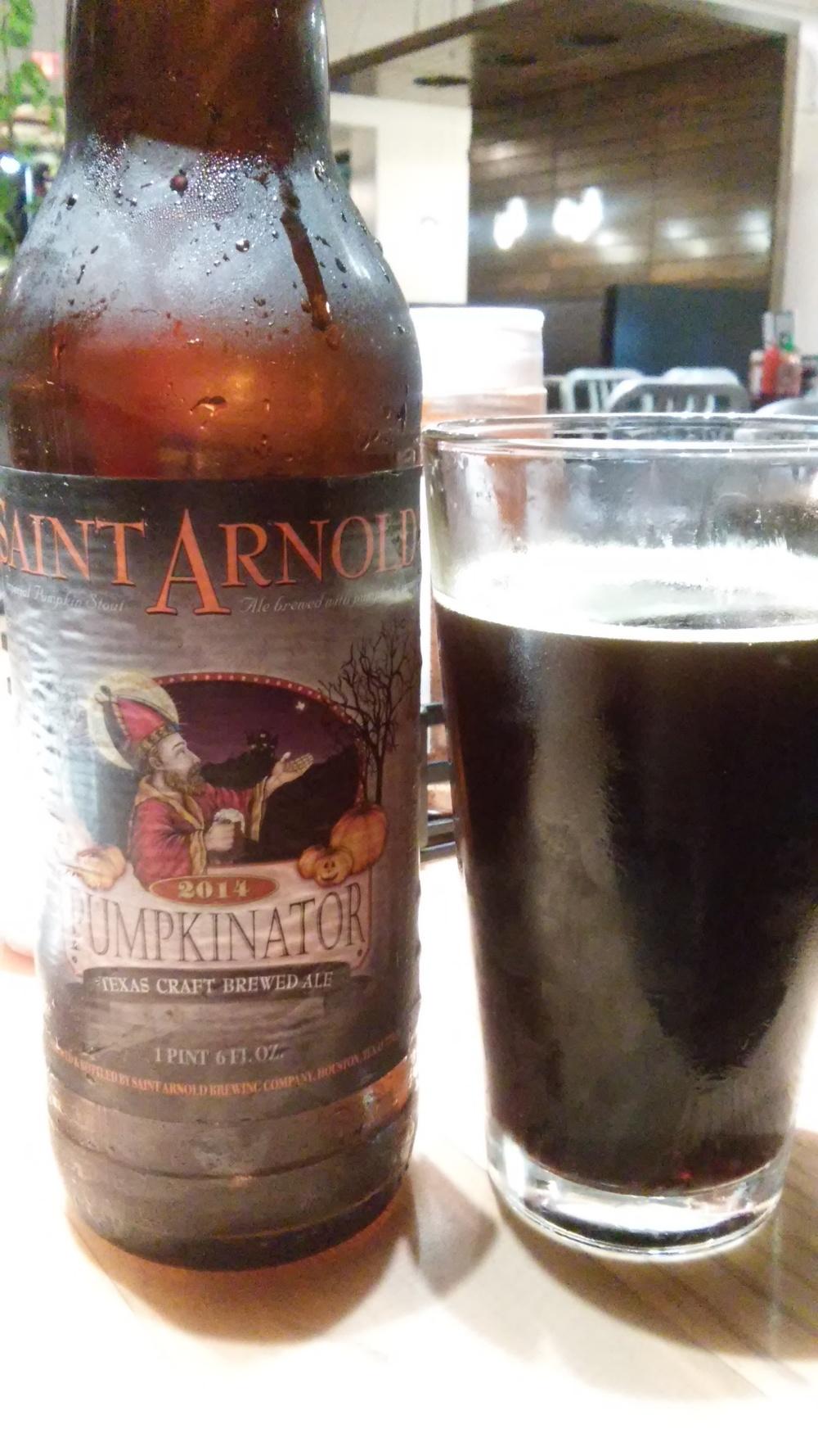 "The ""Pumpkinator"" from Saint Arnolds"