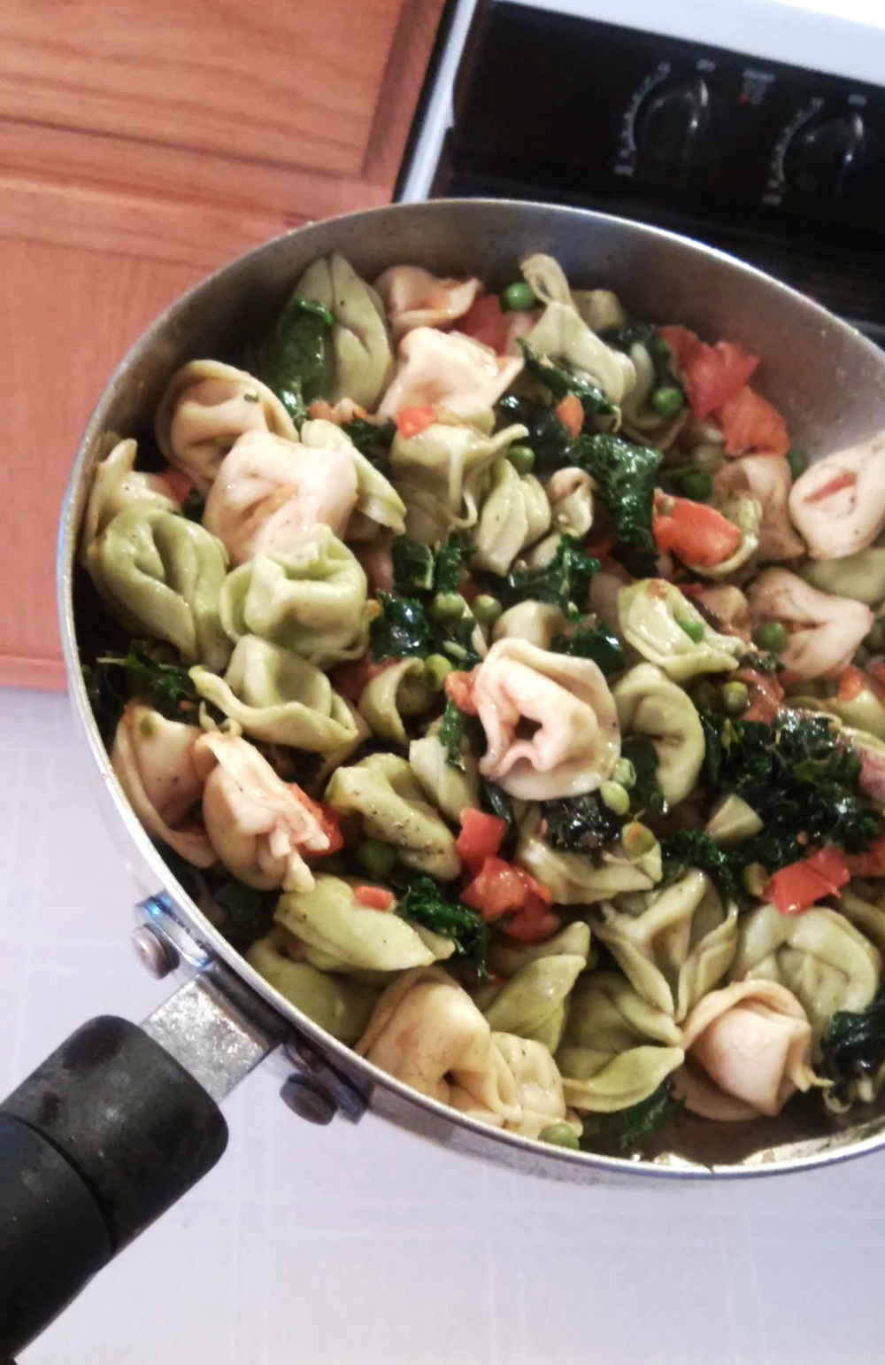 Tortellini with Kale and Brown Butter