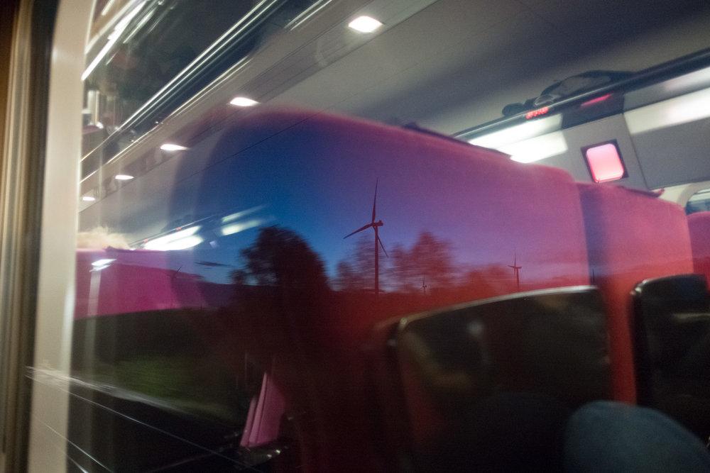 Il faudrait passer plus de temps dans les trains le matin...
