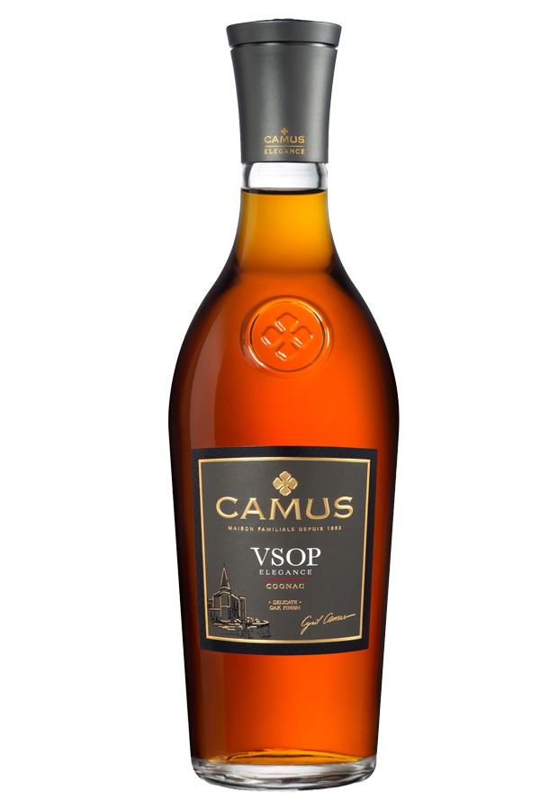 Delicate Oak Finish CAMUS VSOP Elegance is a Cognac rich in mellow, fruity aromas. For the VSOP Elegance, Maison CAMUS selects aromatic eaux-de-vie partially distilled on the lees, including some from our famous Borderies cru, to strengthen the aromatic richness of this Cognac as it ages. Aging in oak barrels specially selected by CAMUS ensures a great mellowness of character and richness of flavor, accented with delicate woody notes. The barrels used are medium toasted, preserving the original aromas of the eaux-de-vie and producing a Cognac with admirable poise and balance. Drink straight over ice or long. CAMUS VSOP Elegance is the preferred choice of bar professionals worldwide as the base for premium cocktails.