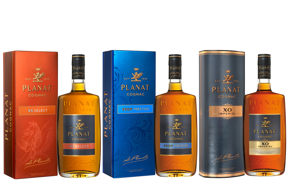 The story of the Planat family is closely intertwined with the history of France. Five successive generations were witness to (and often participants in) momentous events including the French Revolution, the Napoleonic Wars and the Second Empire. This rich family heritage inspired Abel Planat who, in 1828, founded Planat & Co. in Cognac. Exuberant and driven to succeed, this gentleman focused his seemingly boundless energy upon creating a successful business. More than just a businessman, Abel Planat is renowned for the role he played in the town of Cognac's development; during his tenure as mayor, he developed the town's first public drinking water system.  In 1858, following in his father's footsteps, Oscar Planat took the reins of the company and further burnished its international reputation. He was both a member of parliament and mayor of Cognac and he is still fondly remembered for having embellished the town with its gorgeous public park.  Abel Planat and his son Oscar were dedicated to creating cognacs that reflected their personalities and their family's storied history. By selecting only the finest eaux-de-vie and through careful ageing and blending, father and son created cognacs of refined tastes and strong character. PLANAT is still renowned today for selecting quality cognacs from only the finest vineyards.