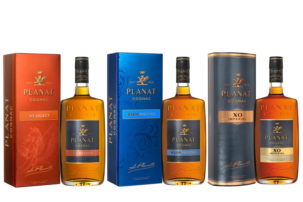 Planat cognac range