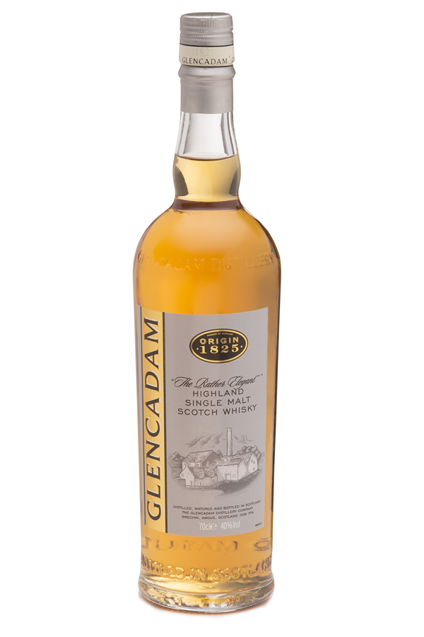 """Multi-award winning Glencadam Highland Single Malt Scotch Whisky 1825 is a fine example of centuries of craftsmanship and tradition. """"The Rather Elegant"""" malt with a beautifully balanced, pure flavor."""