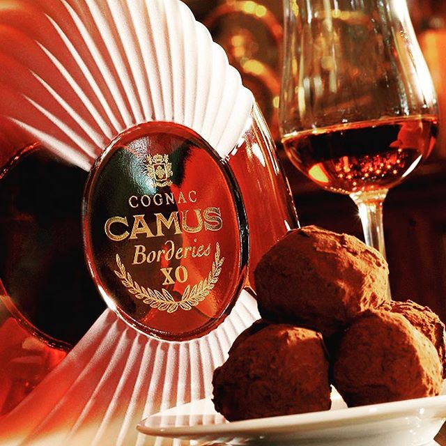 Enjoy the weekend with the finer things in life. #xoborderies #camuscognac