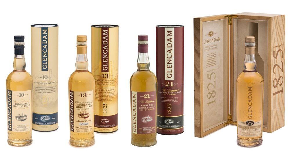 Glencadam Highland Single Malt Scotch Whisky