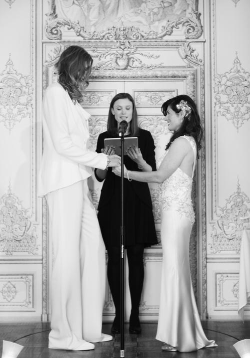 Lesbian wedding in NYC