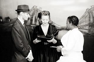 Hollywood Film Noir Themed Wedding
