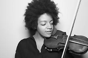 Violinist: Frederick Gnaman