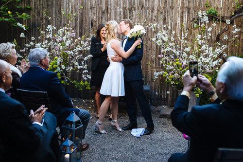 Frankies Spuntino Wedding Officiant NYC