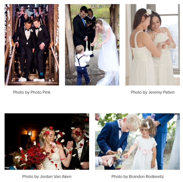 HOW WE CUSTOMIZE EACH CEREMONY - We really listen to you to understand what you are looking for in a wedding ceremony. Once we get to know you better, we will offer suggestions and lead you through a guideline of different elements that may be included. Our options are vast, yet the process is calming. Check out our reviews for confirmation. We are more than happy to customize any wording, write about your personal love story and help you with vow writing (if you choose to write your own). We also incorporate family, cultural or religious traditions if you wish. We also have a few beautiful and unique additions of our own that we will share joyously with you. Readings are lovely ways to personalize a ceremony. Pick from our extensive list or bring your own. We dedicate ourselves to making sure that the words that will unite you in marriage are reflective of your true feelings and love for each other.