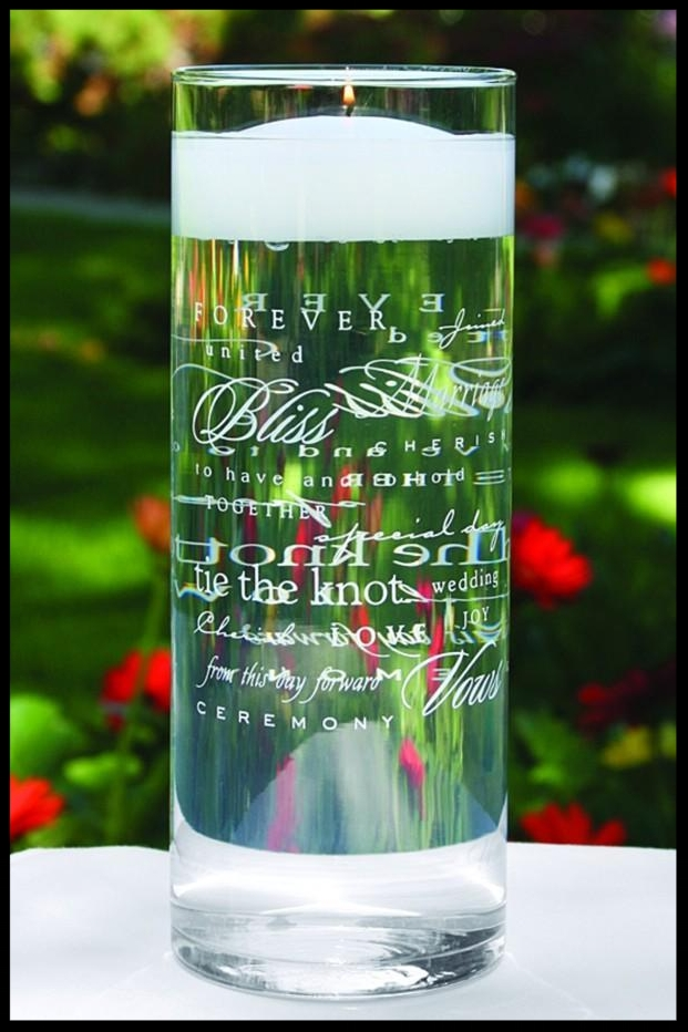 $40.95 Wedding Words Cylinder