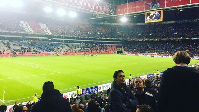 Amsterdam Ajax vs. Celta de Vigo #ajaxwins #amsterdamlife #europaleague #travel