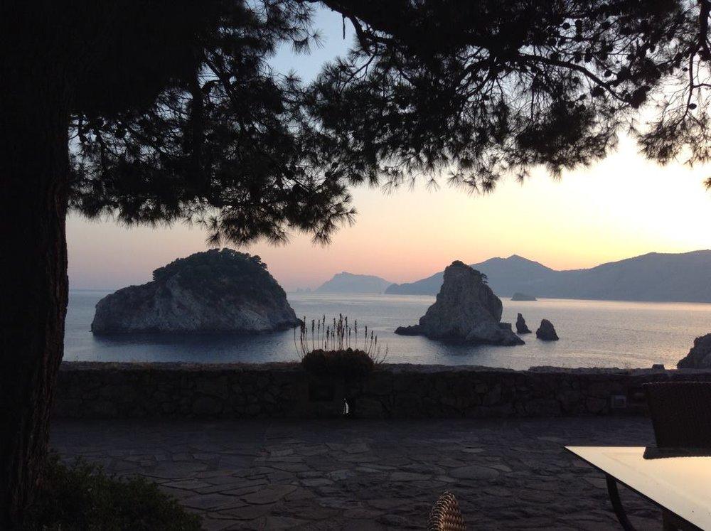 Li Galli, Private Island Yoga Retreat, Italy 2013