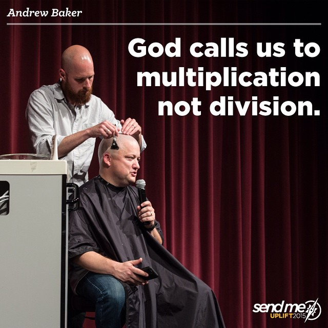God calls us to multiplication not division. #Uplift2015 @beanencourager