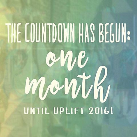 Uplift is RIGHT AROUND the corner, so don't miss out! Register today! www.upliftonline.com #uplift2016