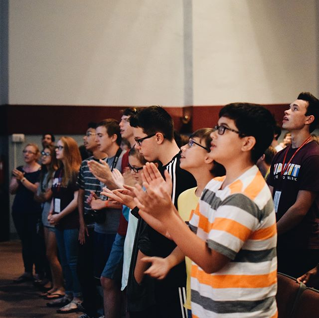 Early in the morning, our song shall rise to thee 🎵 #uplift18 #leaveyourmark