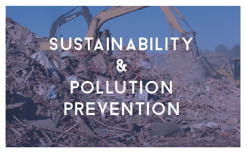 sustainability and pollution prevention