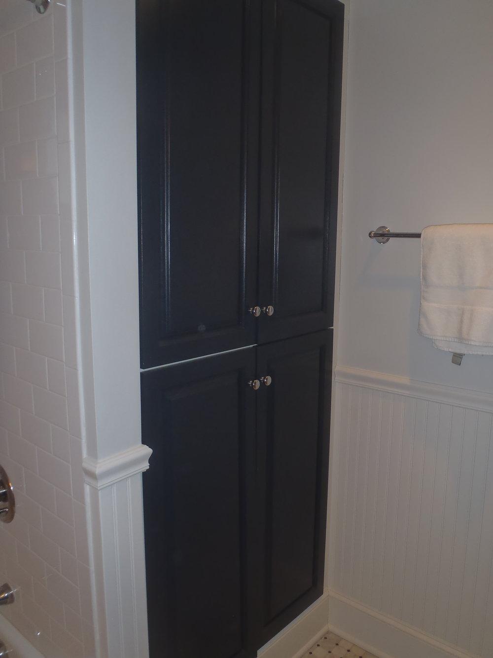 Bathroom Linen Closet Built-in