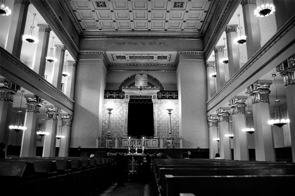 Interior, Synagogue, Copenhagen