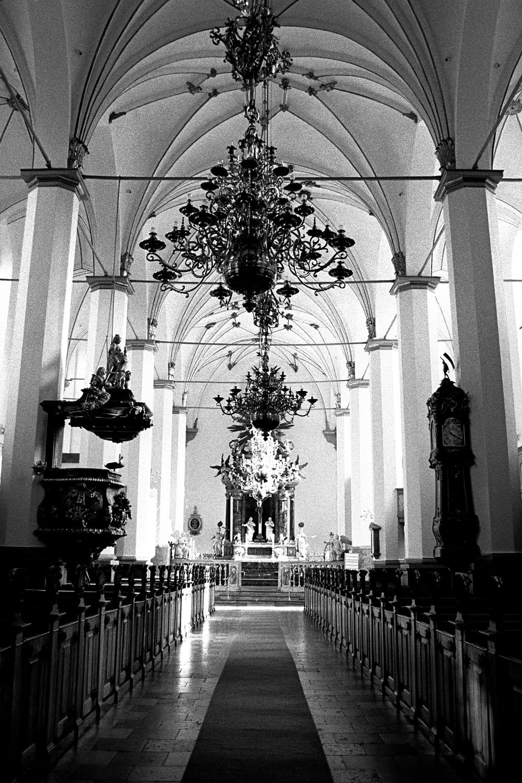 Interior, Trinity Church, Copenhagen