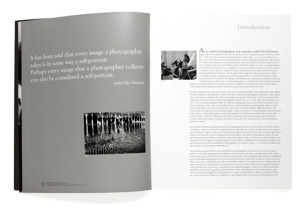 Both Sides of the Camera:    Photographs from the Collection of Judith Ellis Glickman    Introduction
