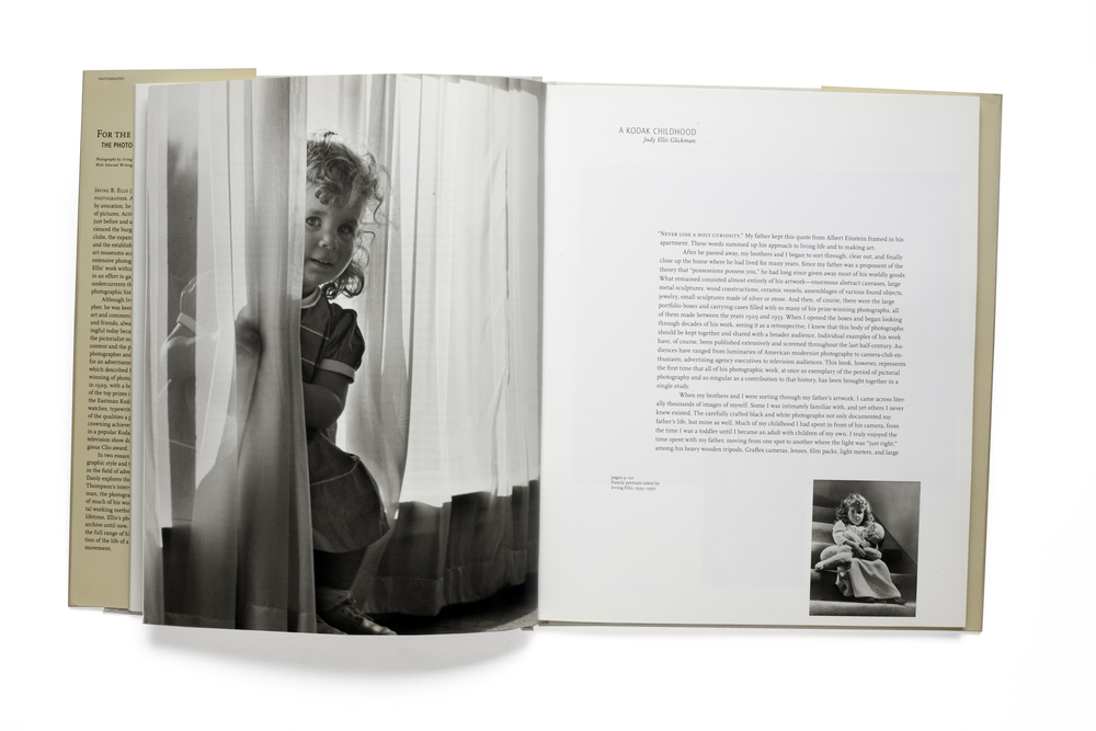 For The Love of It:    The Photography of Irving Bennett Ellis    A Kodak Childhood by  Judy Ellis Glickman