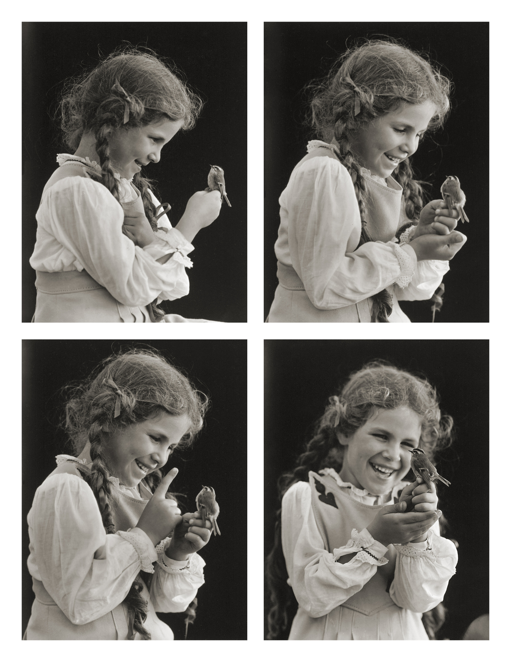 Judy and Her Bird
