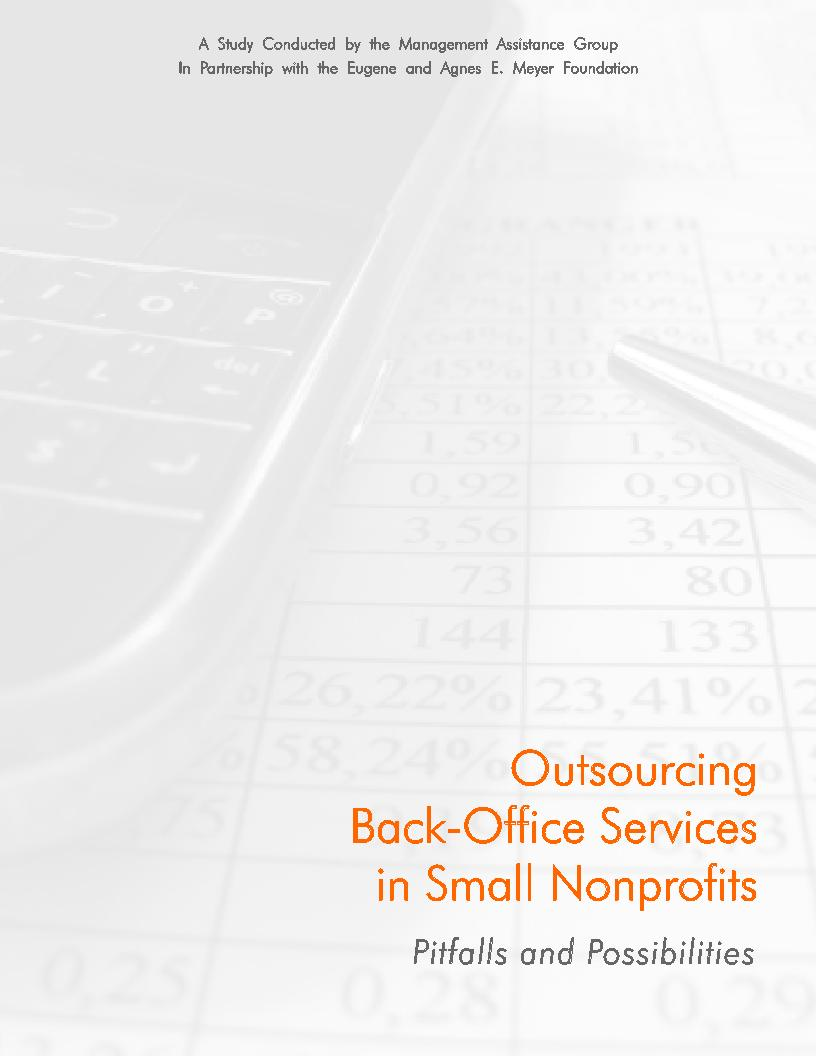 Outsourcing Back-Office Services in Small Nonprofits Pitfalls and Possibilities - Cover.jpg