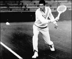 Novak Djokovic as Bill Tilden