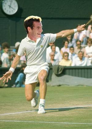 Andy Murray as Bunny Austin