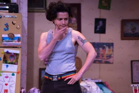 Eppchez! appears as Max in Simpatico Theatre Company's production of Taylor Mac's 'Hir.' (Photo by Daniel Kontz)