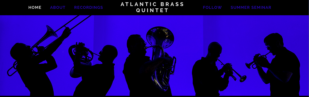 atlantic brass quintet, boston