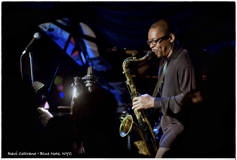ravi coltrane, bluenote, NYC