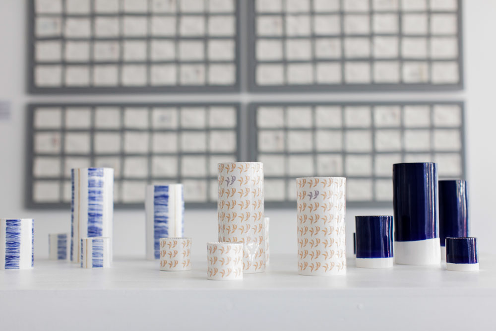 Rebecca Killen Ceramics - Cobalt and Willow Vessels