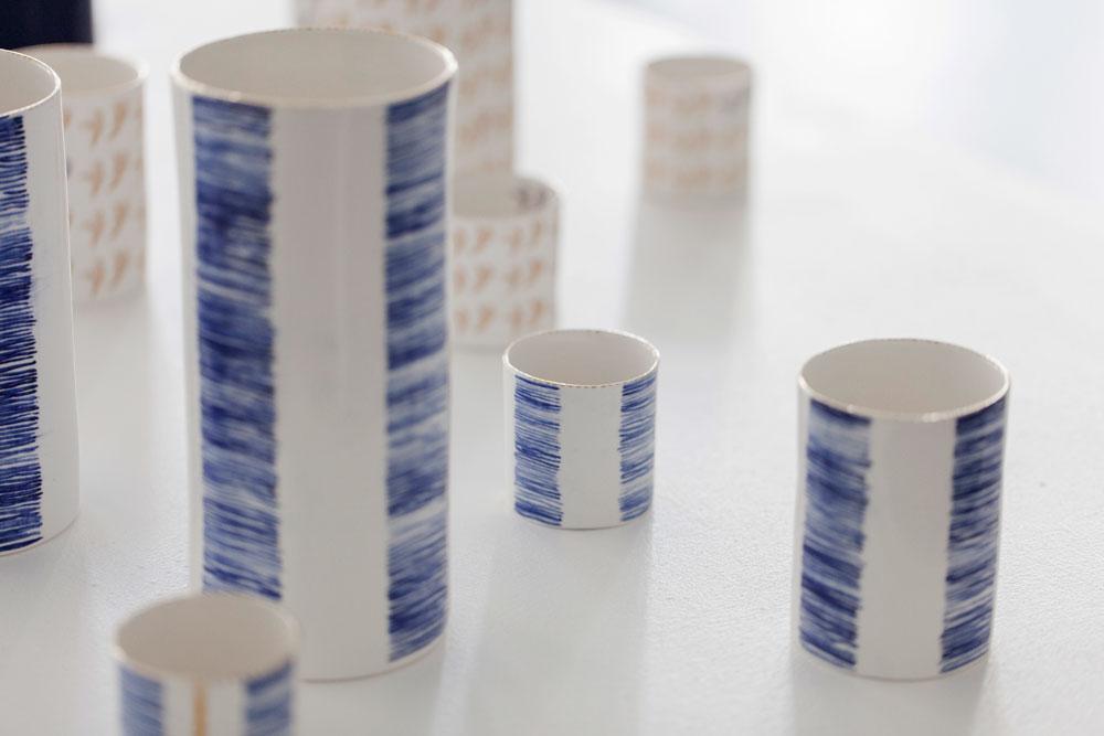 Rebecca Killen Ceramics - Cobalt Vessels