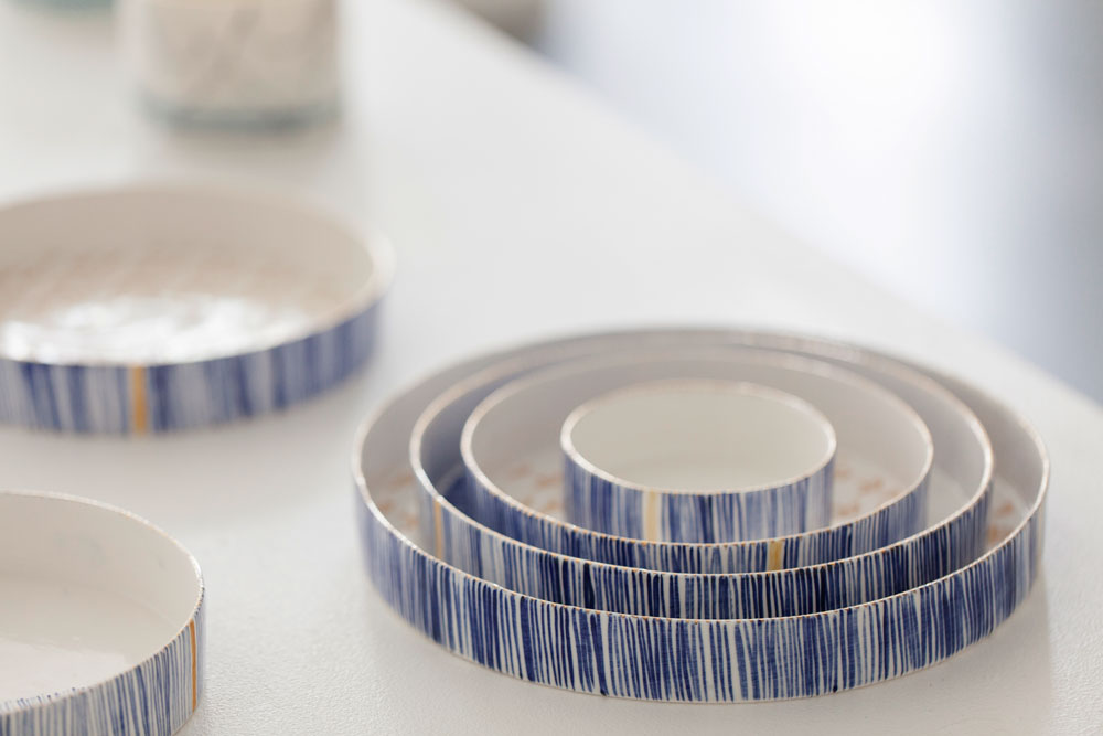 Rebecca Killen Ceramics - Cobalt Dishes